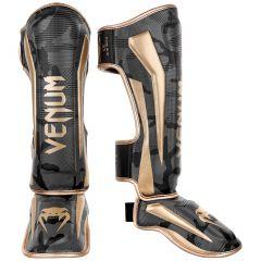 Venum Elite Schienbeinschutz - Camo dunkel/Gold