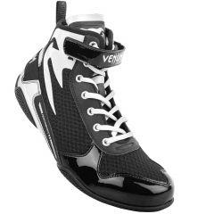 Venum Giant Low Boxing Shoes - Black/White