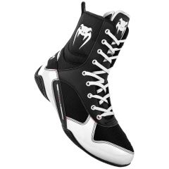 Elite Boxschuhe - Schwarz/Weiß