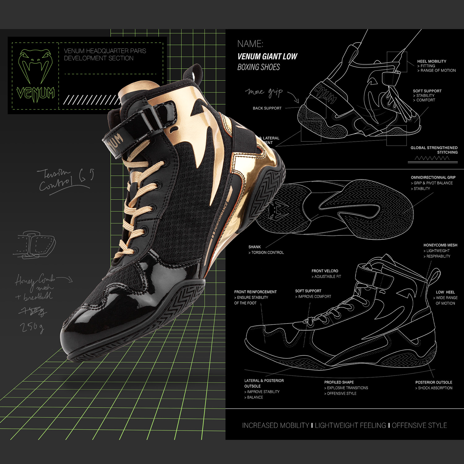 Giant Low boxing shoes