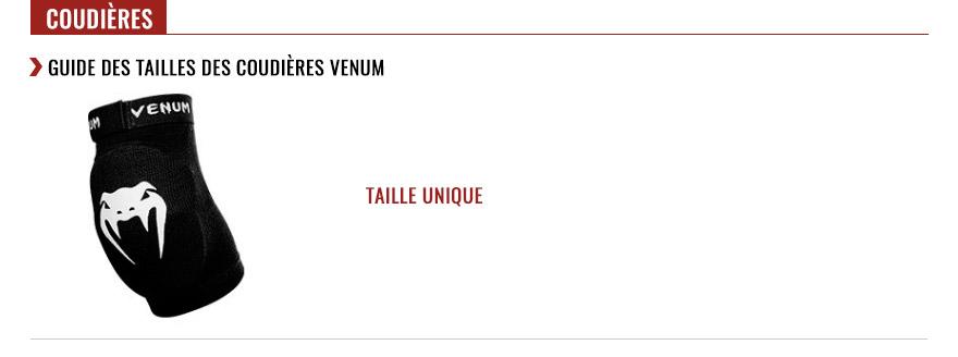 venum elbow pads size chart