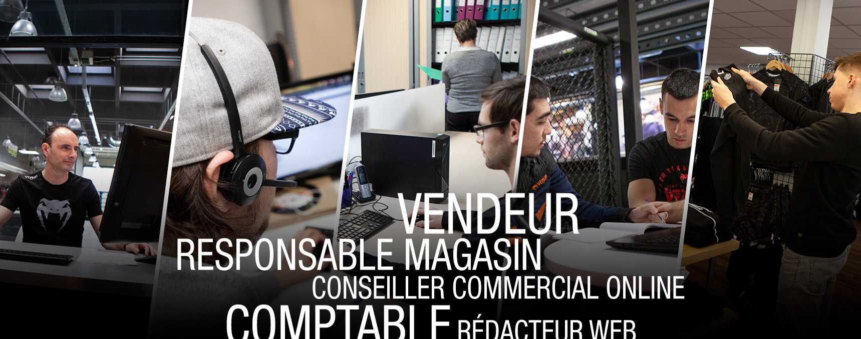 Venum jobs recrutement